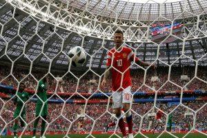 Rusia 2018: Goleada del anfitrión, 5-0, a Arabia Saudita es récord histórico