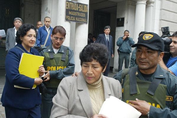 Vigilancia minuciosa para Martha Huatay