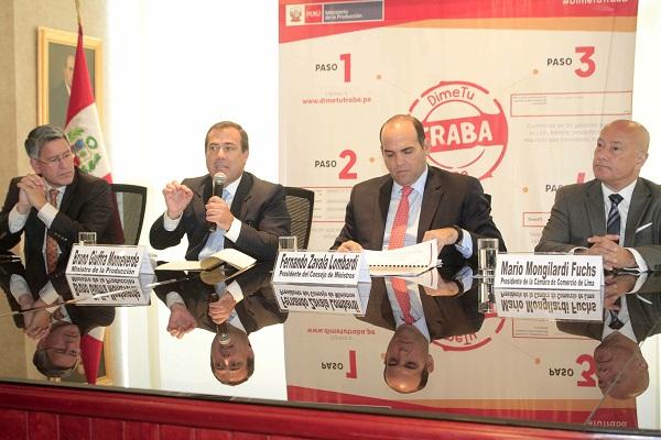Ejecutivo abre línea para lograr mayor inversión y elevar competitividad