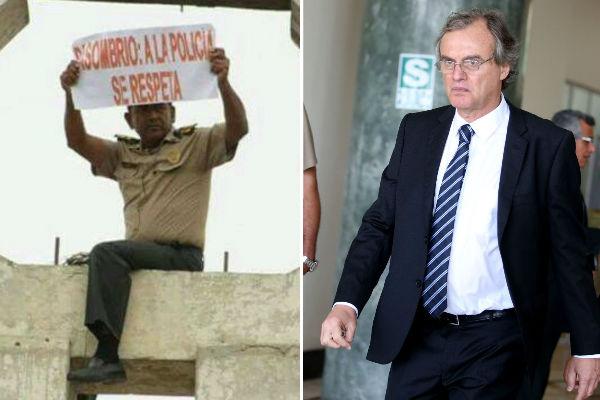 Chiclayo: Suboficial que protestó contra Basombrío no se presentó ante Fiscalía