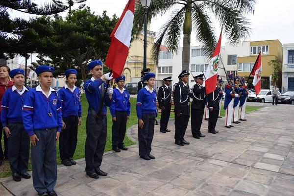 Conmemoran Batalla de Arica en La Punta