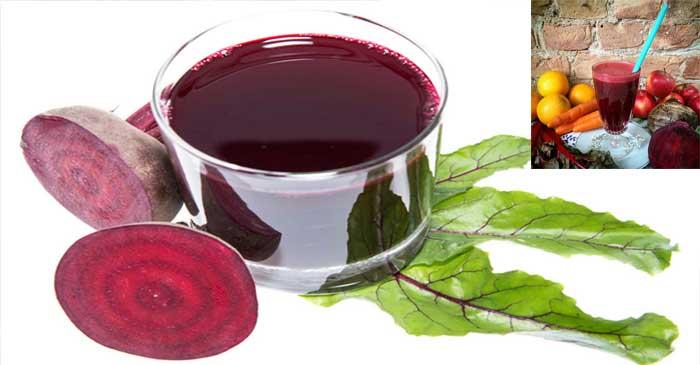 Beterraga combate la anemia y enfermedades de la sangre