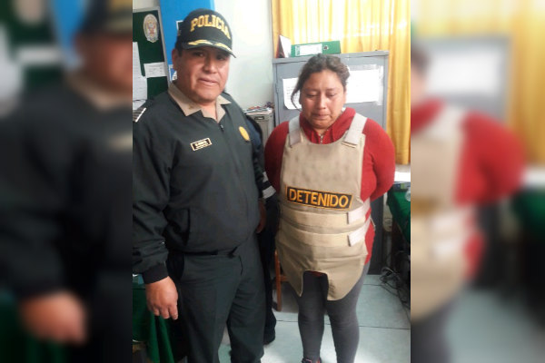Cusco: Así fue la captura de la despiadada madre que abusó de sus hijas de 10 y 13 años en Huarmey | VIDEOS y FOTOS