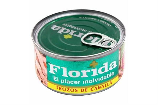 Florida ya no comercializará conservas de caballa