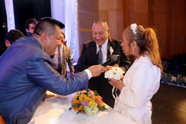 Callao organizó Matrimonio Civil Comunitario