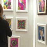 Inabif expone el arte de sus inquilinos infantiles