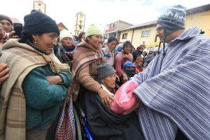 Junín: Supervisan entrega de ayuda humanitaria a pobladores en riesgo