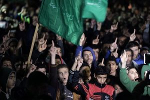 Donald Trump: Palestinos protestan en las calles