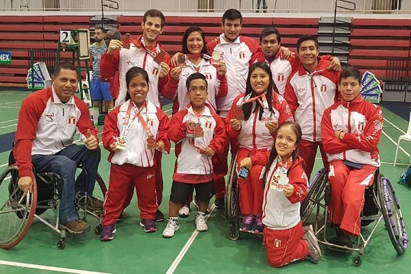Brasil Para-Badminton International 2018: Perú ganó 11 medallas