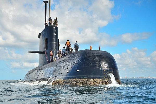 Argentina: 7 días desaparecido el submarino ARA San Juan