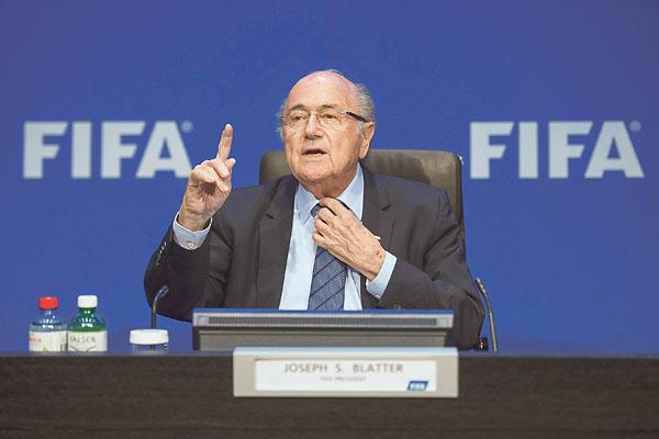 Joseph Blatter, expresidente de FIFA, está hospitalizado