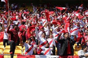 Perú vs. Escocia: Llegada del bus de la selección peruana al Estadio Nacional