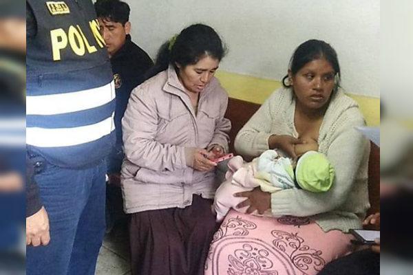 Huaycán: Encuentran bebé que habría sido raptada por falsa trabajdora social [VÍDEO]