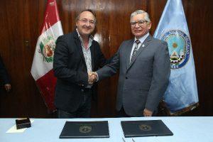 Universidad del Callao suscribe convenio internacional