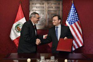 EE.UU. y Perú unidos contra el terrorismo