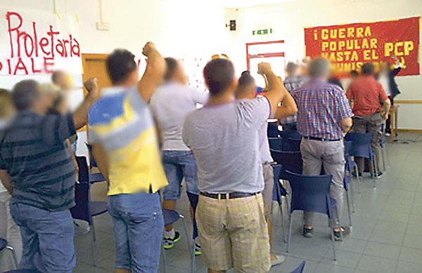 "SL coordina ""guerra popular"" desde Italia"