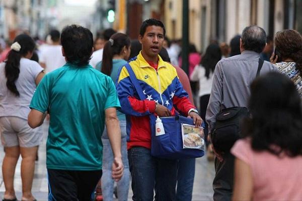 Venezolanos ganan menos de S/ 1,200, según INEI