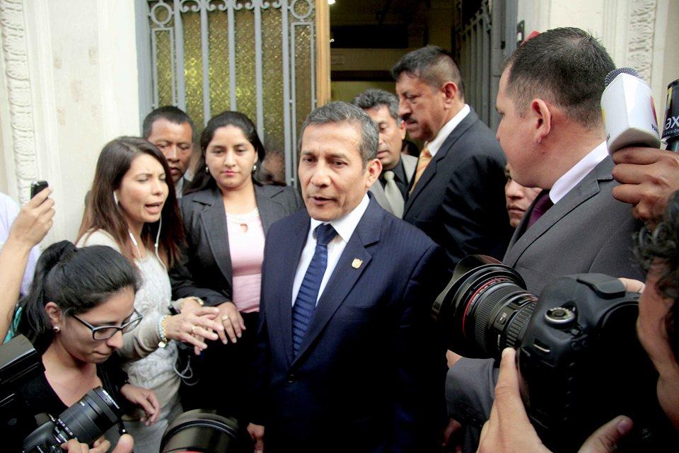 Sala de Apelaciones verá hoy medidas contra Humala