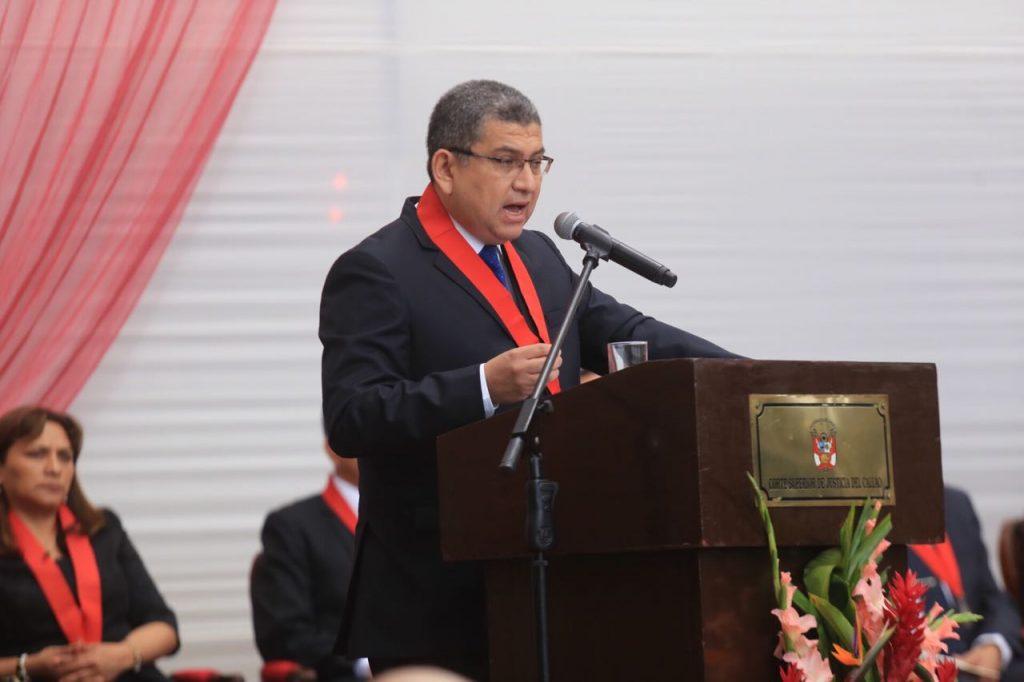 Corte del Callao inicia año judicial 2018