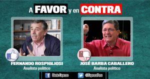 ¿Está  a favor de que el presidente Martín Vizcarra haya pedido la aplicación del artículo 157 de la Constitución, para el caso de los consejeros del CNM implicados en los audios?
