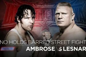 Brock Lesnar vence a Dean Ambrose en WrestleMania 32 (VIDEO)