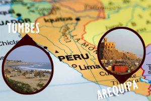 Arequipa y Tumbes registraron sismos leves esta mañana