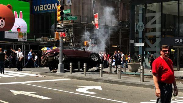 New York: múltiple atropello deja un muerto y 20 heridos en Times Square
