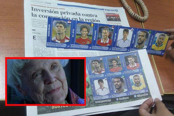 """""""Cracks del Mundial"""": La tierna historia de la abuelita coleccionista del álbum de EXPRESO"""