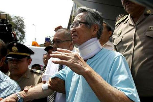 ¿Inminente excarcelación de Fujimori?
