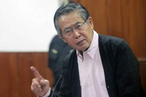 Alberto Fujimori será trasladado al penal de Barbadillo