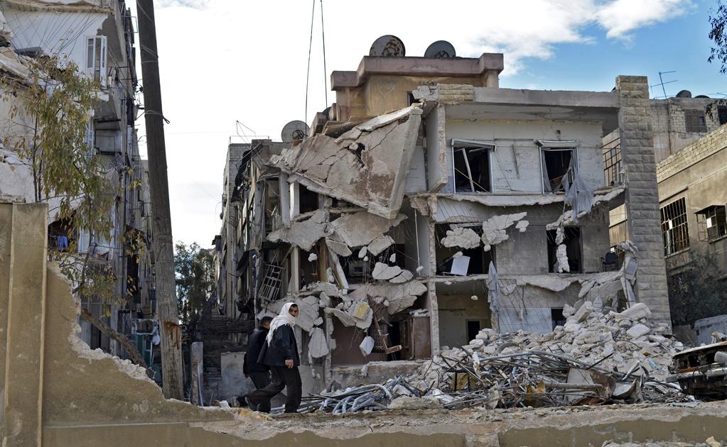 Al menos once muertos tras bombardeo al oeste de Alepo