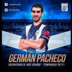 Alianza Lima confirmó fichaje de Germán Pacheco