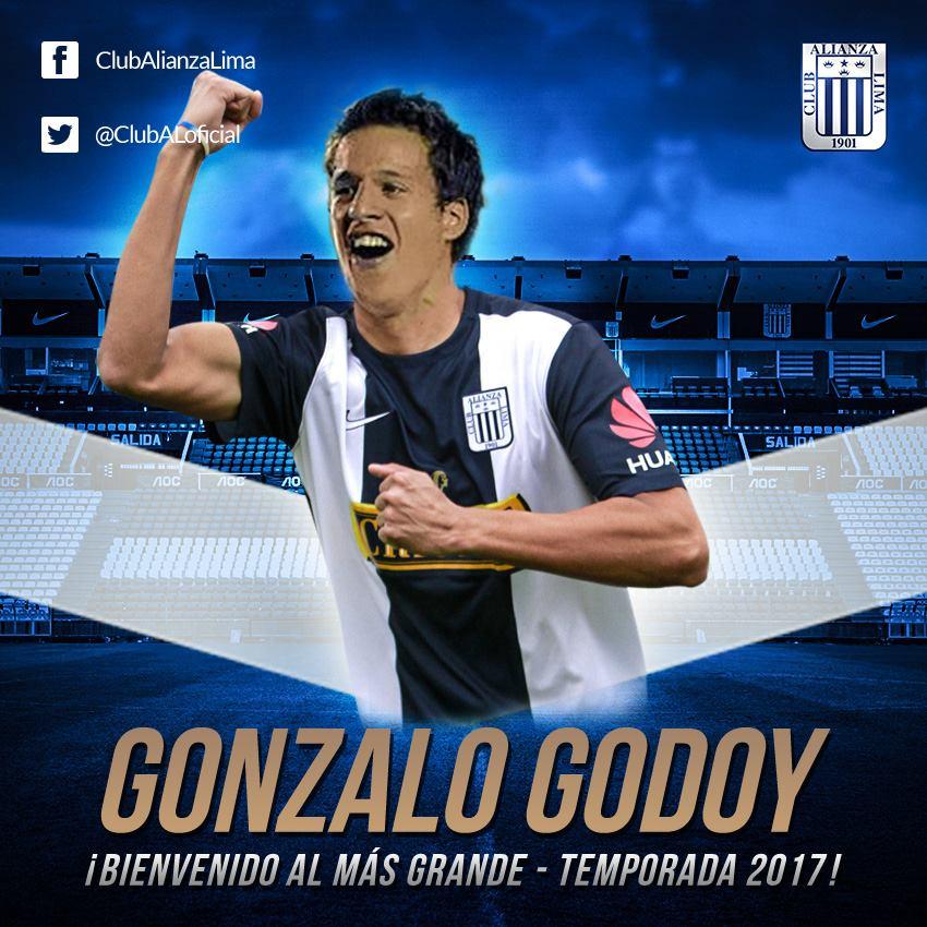 Alianza Lima anuncia fichaje del uruguayo Gonzalo Godoy