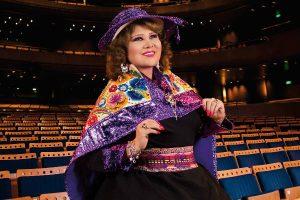 Amanda Portales presenta espectáculo musical en el Gran Teatro Nacional
