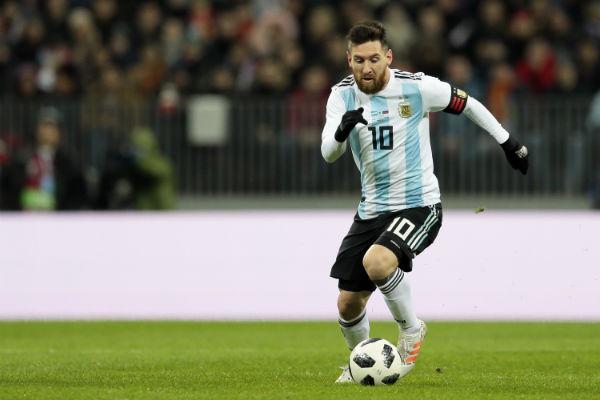 Argentina vs. Islandia en el Arena Spartak