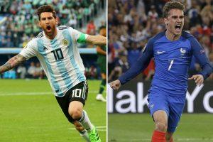 Argentina vs. Francia: Albiceleste le dice adiós a Rusia 2018