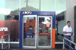 SJM: Asaltan agencia bancaria en la avenida Salvador Allende