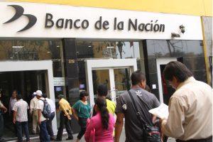 Banco de la Nación suspende temporalmente operaciones por internet