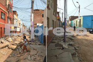 Barranco: Vecinos denuncian obras inconclusas en jirón Talana [VÍDEO]