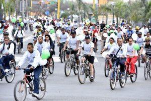 Cercado de Lima: Bicicleteada para promover la donación voluntaria de sangre