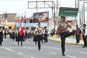 Brigadieres y policías escolares del Callao juramentan ante la PNP