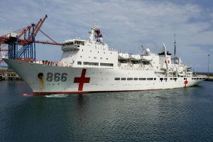 Venezuela: Gobierno chino envió buque hospital para atender a enfermos