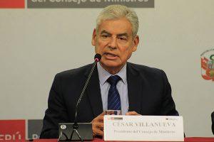 """César Villanueva: """"Somos un Gobierno que pone con claridad las metas"""""""