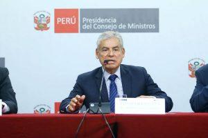 César Villanueva acepta renuncia del ministro de la Producción