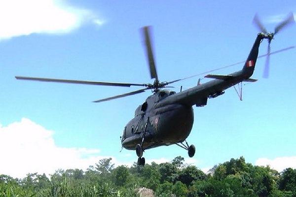 VRAEM: Bandada obliga a aterrizaje forzoso de helicóptero