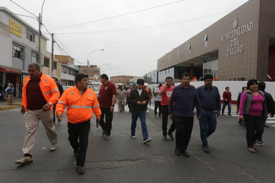 Simulacro de sismo y tsunami en el Callao tuvo gran participación