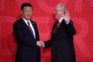 PPK recibe a presidente de China