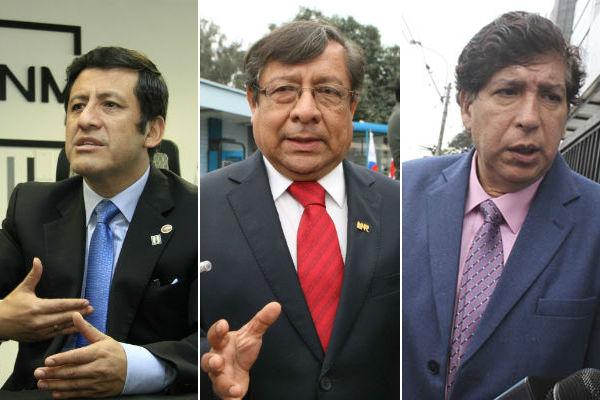PJ ordena impedimento de salida del país para Aguila, Velásquez y Noguera [FOTO]