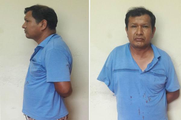 Cañete: Capturan a profesor acusado de violar a menor de 12 años