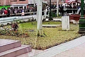 Cañete: Encuentran cuerpo de una menor en pozo de la Plaza de Armas en Cerro Azul